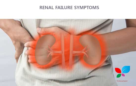 Renal what failure symptoms is Signs and